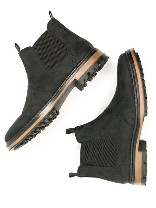 Continental Chelsea Boots - black