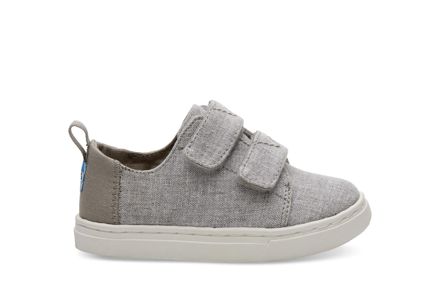 Tiny TOMS Lenny Sneakers - Drizzle Grey